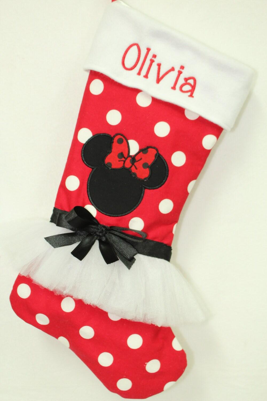 Magnificent Christmas Stockings Minnie Mouse Christmas Stockings Disney Easy Diy Christmas Decorations Tissureus