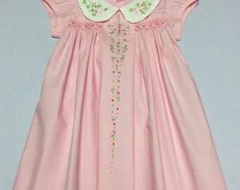 Pink Smocked Dresses