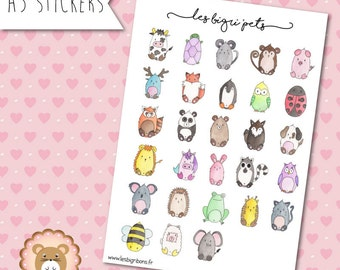 "Animal stickers ""BiGri ' Pets"""