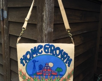 Marajuana Messenger Bag