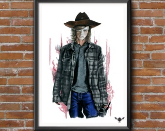 Limited Edition Print - Carl Grimes