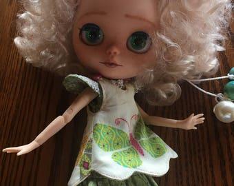 SOLD!!  Custom Blythe Doll, OOAK Blythe Doll, Customized Factory Blythe
