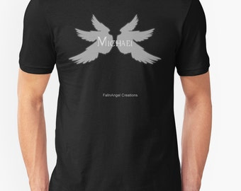 Supernatural Michael with Wings T-Shirt - Multiple Sizes & Colors Available! - Archangel