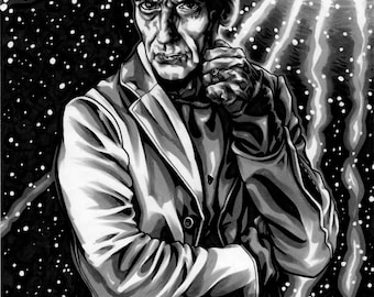 A4 DOCTOR WHO- The Doctor