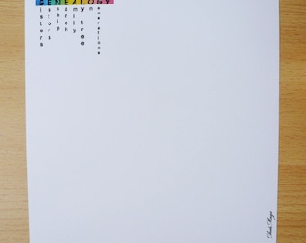 papier à lettre kit