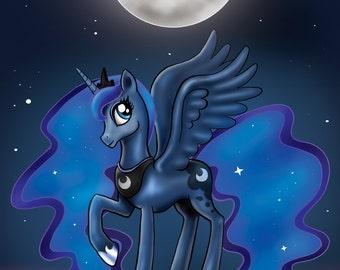 Moon Princess - MLP Luna Print