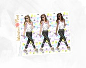 Fit Double Boxes - Matte or Glossy Erin Condren Planner Stickers -