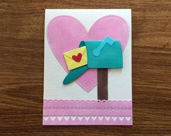 Card Love Message / Valentine's Day