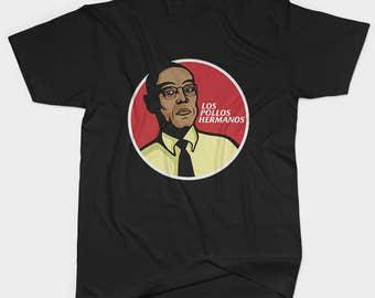 Los Pollos Hermanos Shirt, Breaking Bad Los Pollos Hermanos women and men shirt with KFC design, Breaking Bad Shirt, Gift for Her