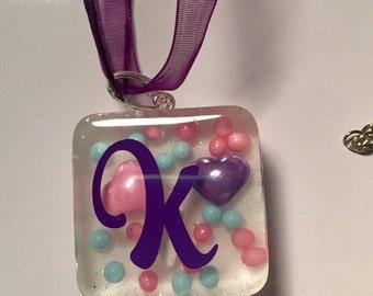 Tween teen necklace resin charm necklace gift for tweens