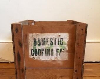Retro Wooden Box / Storage Box