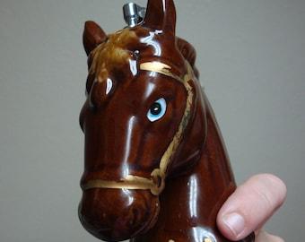 Vintage Horse Head Cigarette/Cigar  Lighter - Japan (1950s)