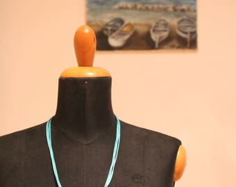 Handmade summer necklace with real seashell Collana fatta a mano con conchiglia vera