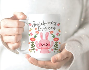 Bunny Person Mug - Rabbit Mug - Bunny Mug - Mug for Bunny Owner - Bunny Coffee Mug - Bunny Coffee Cup - Rabbit Owner Gift