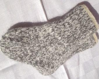 Angora Baby socks