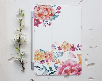 iPad Case iPad Stand for iPad Leaves Floral iPad Cover iPad Mini Cover Tablet Stand iPad Air Smart Case iPad Mini Smart Cover iPad 4 s047