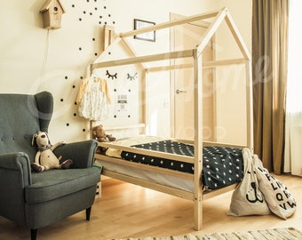 wood bed bed house house bed children bed toddler bed children