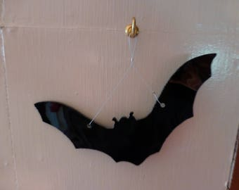Stained glass Bat suncatcher Halloween decoration