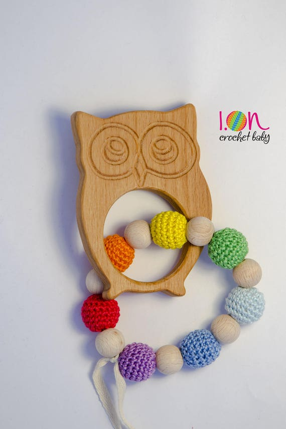 Game teething Owl