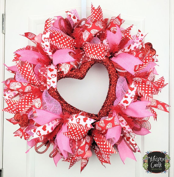 Valentine Day Wreath