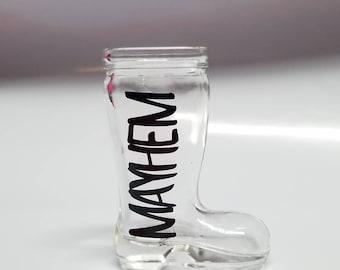 MAYHEM Mini Das Boot Single Shot Glass
