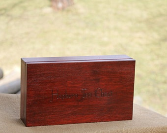 personalized gift, made to order, personalized tea box, custom tea organizer, wooden tea chest, personalized tea organizer