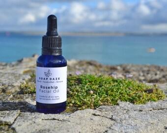 Rosehip Facial Oil, Organic Facial Oil