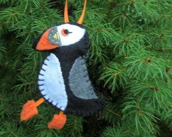 Puffin Felt Ornament