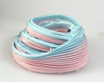 30cm Shibori Silk Ribbon Handmade Silk ribbon