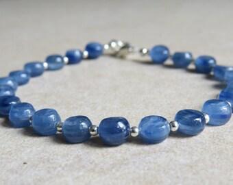 Kyanite & Silver Bracelet
