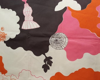 "Gorgeous fabric ""Sväva"" - Catharina Edlund - Ljungbergs Textil - Sweden (T25)"