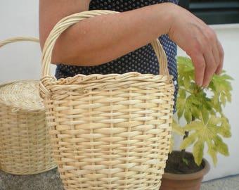 Small Size Jane Birkin Basket-Wicker basket- Wicker Jane Birkin Basket