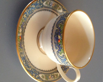 Lenox Autumn Coffee, Cocoa, Tea, Place Setting Cup and Saucer Set; As New Vintage
