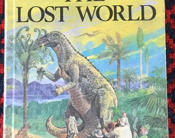 Vintage Ladybird Book- The Lost World