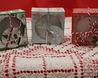 Large Tea Light Gift Box