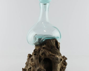 Teak Root Bottle - S