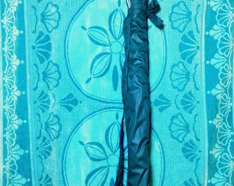 Carry Bag - for Windscreens - Sturdy - Double Stitched - Plastic bottom & ties to secure the - Over Shoulder Handle, Straps, 2 sizes - Teal