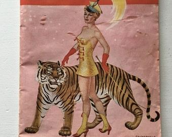 1952 RINGLING BROS. and Barnum and Bailey Circus Magazine and Program