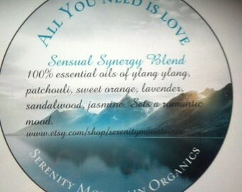 All You Need Is Love Sensual Synergy Blend