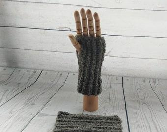 100% Pure Alpaca Adult Wrist Warmers