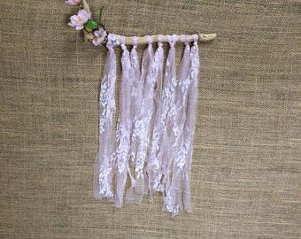 Floral Lace Wall Hanging