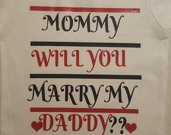 Proposal onesie