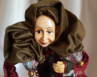 OOAK Fantasy Doll- Kind Grandee