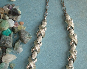 Classic Traditional Silver Necklace