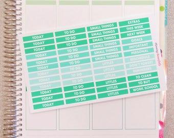 eclp header stickers, header stickers, header planner stickers, eclp stickers, erin condren planner stickers, erin condren header stickers