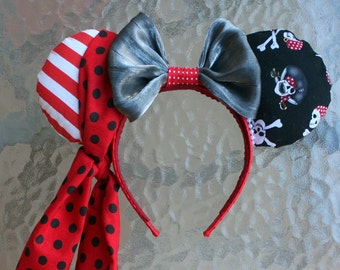 Pirate Minnie Mouse Ears