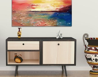 Living room painting | Etsy