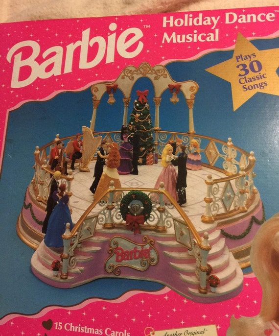 Vintage Barbie Holiday Dance Musical/30 Classic Songs/In