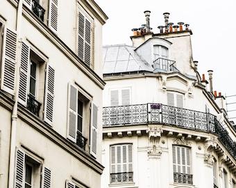Paris Rooftop Photography - Paris Rooftops - Wall Art Print - Paris Decor - Architecture - Fine Art Photography  - Timeless Paris - 0006