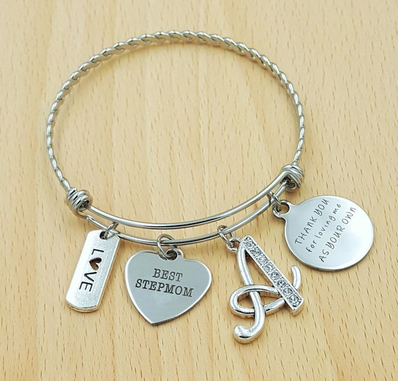 Step Mom Bracelet Step Mom Gift Stepmom Gift Gifts for Stepmom Stepmother Gifts Gifts for Step Mom Thanks for Loving Me as Your Own